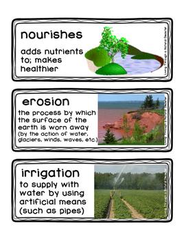 ReadyGEN Vocabulary Living Through a Natural Disaster