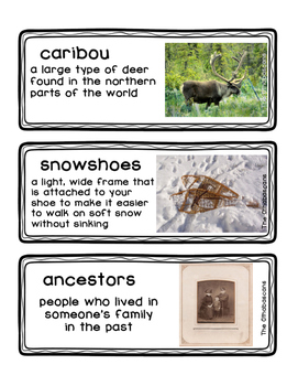 ReadyGEN Vocabulary The Athabascans Old Ways and New Ways