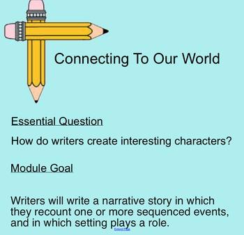 ReadyGEN 2014-15 Writing SMART Notebook Slides Grade 1 Uni