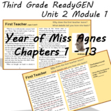 ReadyGEN Third Grade The Year of Miss Agnes Unit
