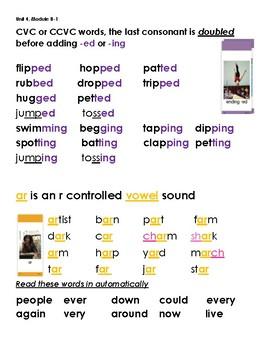 ReadyGen 1st Grade Foundational Skills Blending Lines 4B