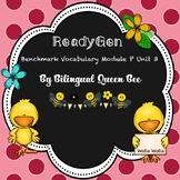 ReadyGen Module P Unit 3 Benchmark Vocabulary