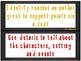 ReadyGen 1st Grade Skill Focus Statements Unit 6