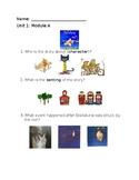ReadyGen/1st Grade: Unit 1/Module A Assessment