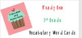 ReadyGen 1st Grade Vocabulary Word Cards BUNDLE