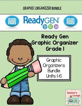 ReadyGen 2014-15 Graphic Organizers - BUNDLED - Grade 1