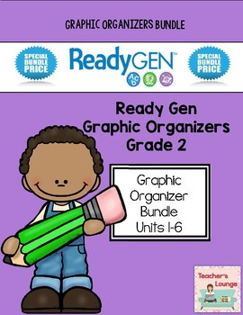 ReadyGen 2014-15 Graphic Organizers - BUNDLED - Grade 2