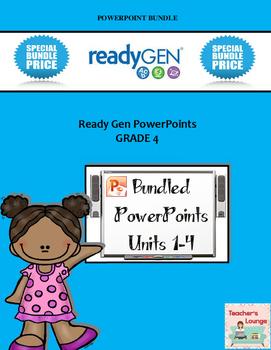 ReadyGen 2014-15 PowerPoints - BUNDLED - Grade 4