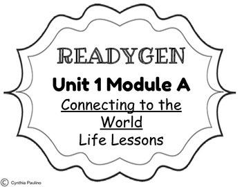 ReadyGen 2014-2015 Unit 1 Module A Concept Board