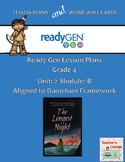 ReadyGen 2016 Lesson Plans Unit 2B - Word Wall Cards - EDITABLE - Grade 4