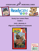 ReadyGen 2016 Lesson Plans Unit 3A - Word Wall Cards - EDITABLE - Grade 2