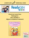 ReadyGen 2016 Lesson Plans Unit 4A - Word Wall Cards - EDITABLE -Kindergarten