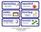 ReadyGen 2016 Lesson Plans Unit 5B - Word Wall Cards - EDITABLE - Grade 2