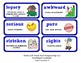 ReadyGen 2016 Lesson Plans Unit 6B - Word Wall Cards - EDITABLE - Grade 2