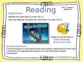 ReadyGen 2016 Unit 1 Module B - EDITABLE PowerPoint Lessons - Grade 1