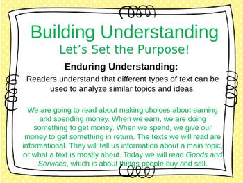 ReadyGen 2016 Unit 3 Module B - EDITABLE PowerPoint Lessons - Grade 1