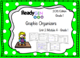 ReadyGen 2016 edition: Unit 2 Module A Graphic Organizers Grade 1