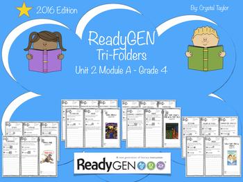 ReadyGen 2016 edition: Unit 2 Module A Trifold Organizers