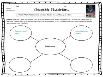 ReadyGen 2016 edition: Unit 2 Module B Graphic Organizers Grade 4