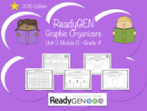 ReadyGen 2016 edition: Unit 2 Module B Graphic Organizers Grade 4