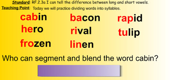 ReadyGen 2nd Grade Phonics SMARTboard Lessons Unit 1 Week 6