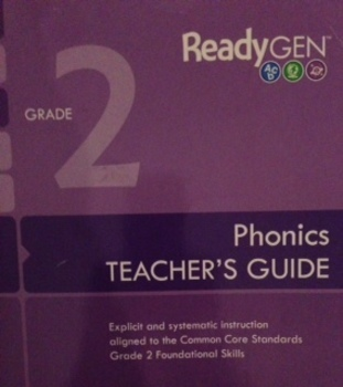 ReadyGen 2nd Grade Phonics SMARTboard Lessons Unit 2 Week 1