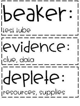 ReadyGen | 3rd Grade Unit 1 Module A Vocabulary