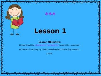 ReadyGen 3rd Grade Unit 1 PowerPoint, Module A, Lessons 1-5