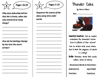 ReadyGen 3rd Grade Unit 1 Trifolds Bundle (2016)