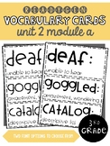 ReadyGen | 3rd Grade Unit 2 Module A Vocabulary