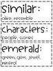 ReadyGen | 3rd Grade Unit 2 Module B Vocabulary