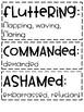 ReadyGen | 3rd Grade Unit 3 Module A Vocabulary