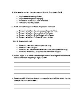 ReadyGen 4th Grade Porpoises in Peril Assessment