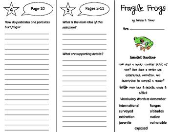ReadyGen 4th Grade Unit 1 Trifolds Bundle