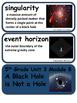 ReadyGen A Black Hole is Not a Hole Vocabulary 5th Grade Unit 3 Module B