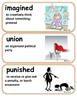 ReadyGen Brave Girl Vocabulary 3rd Grade Unit 4 Module A
