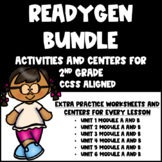 ReadyGen Bundle for Second Grade Units 1-6 Activities and Centers