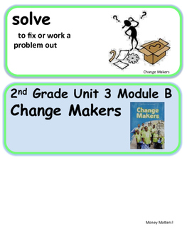 ReadyGen Change Makers Vocabulary 2nd Grade Unit 3 Module B