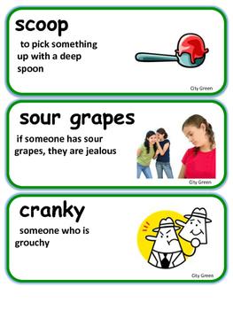 ReadyGen City Green / City Trees  Vocabulary 2nd Grade Unit 3 Module B
