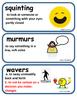 ReadyGen Come On, Rain! Vocabulary Kindergarten Unit 3 Module A