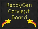 ReadyGen Concept Board Focus Wall