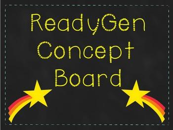ReadyGen Concept Board Focus Wall