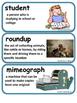 ReadyGen Coyote School News Vocabulary 4th Grade Unit 4 Module A