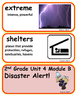 ReadyGen Disaster Alert! Vocabulary 2nd Grade Unit 4 Module B