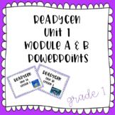 ReadyGen EDITABLE Powerpoints- Grade 1 - Unit 1