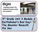 ReadyGen Earthshaker's Bad Day Vocabulary 4th Grade Unit 3 Module A