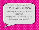 ReadyGen Essential Questions and Enduring Understanding