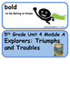 ReadyGen Explorers: Triumphs and Troubles Vocabulary 5th G