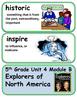 ReadyGen Explorers of North America Vocabulary 5th Grade U