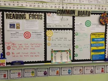 ReadyGen First Grade 2A Concept/Common Board/Focus Wall